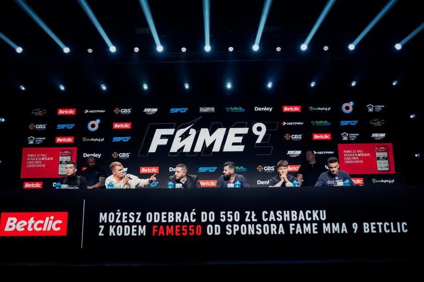 Fame MMA 9 – typy na walki i kursy bukmacherskie w Betclic