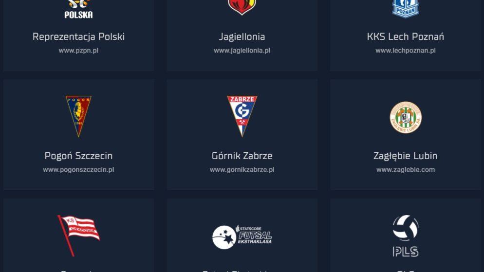 Sponsoring legalnych polskich bukmacherów